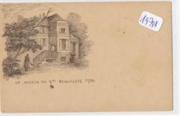 CPA ( Précurseur) -19788-A Localiser -Dessin La Maison Du Gal  Bonaparte 1796   Livraison Gratuite - Ajaccio