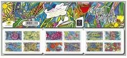 France 2016 - Fleurs A Foison ** Stamp Booklet Mnh - Cruz Roja