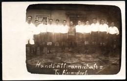9024 - TV Hermsdorf - Handball Handballmannschaft -  TOP Foto - Fotografie