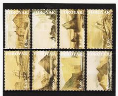 TNT185 DÄNEMARK - FÄRÖER 2004  Michl 487/94 SATZ ** Postfrisch SIEHE ABBILDUNG - Färöer Inseln