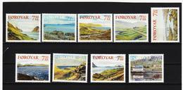 TNT191 DÄNEMARK - FÄRÖER 2005  Michl 534/42 SATZ ** Postfrisch SIEHE ABBILDUNG - Färöer Inseln