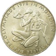 Monnaie, République Fédérale Allemande, 10 Mark, 1972, Hamburg, SUP, Argent - [ 7] 1949-… : RFA - Rép. Féd. D'Allemagne