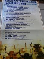 Affiches  - Plaisance Du Gers Festival Des Sens 2002 - Affiches & Posters