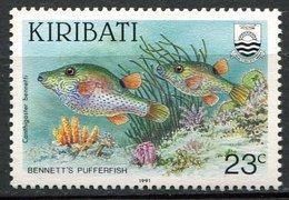 Kiribati ** N° 242  - Poissons  - - Kiribati (1979-...)