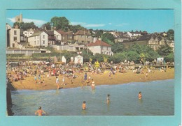 Old Small Post Card Of The Beach,Leigh On Sea,Essex, England,V92. - England