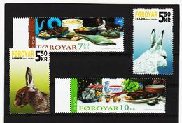 TNT195 DÄNEMARK - FÄRÖER 2005  Michl 526/29 ** Postfrisch SIEHE ABBILDUNG - Färöer Inseln