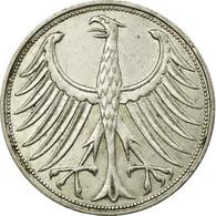 Monnaie, République Fédérale Allemande, 5 Mark, 1951, Stuttgart, TTB+ - [ 7] 1949-… : RFA - Rép. Féd. D'Allemagne