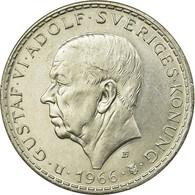 Monnaie, Suède, Gustaf VI, 5 Kronor, 1966, SUP, Argent, KM:839 - Suède