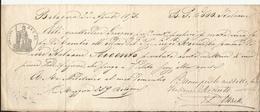 BOLOGNA 22 APRILE 1873 CAMBIALE  (14) - Cambiali