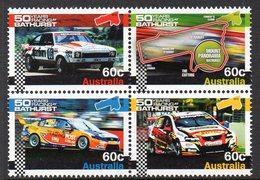 AUSTRALIA, 2012 BATHURST CAR RACING BLOCK 4 MNH - Nuevos