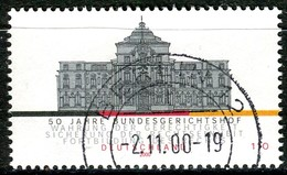 BRD - Mi 2137 - OO Gestempelt (G) - 110Pf   Bundesgerichtshof - Oblitérés