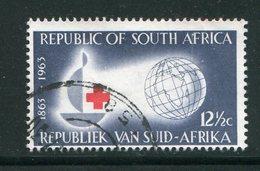 AFRIQUE DU SUD- Y&T N°276- Oblitéré (croix Rouge) - Afrique Du Sud (1961-...)
