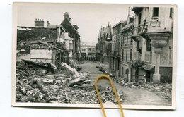 Carte Photo 62  : BERCK  Guerre 39-45 Rue De La Mer Et Rue St Georges  VOIR  DESCRIPTIF  §§§ - Berck