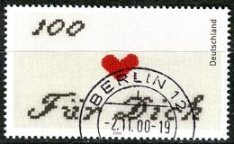 BRD - Mi 2138 - OO Gestempelt (G) - 110Pf   Grußmarke - Oblitérés
