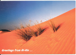 UAE Al-Ain Postcard Sent To Germany 9-3-1999 (Greetings From Al-Ain) - Emirati Arabi Uniti