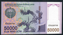 UZBEKISTAN NLP 50.000 SOM 2017   UNC. - Oezbekistan
