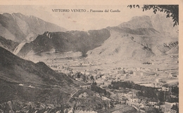 Cartolina - Postcard / Viaggiata - Sent /  Vittorio Veneto, Panorama Del Castello. - Treviso