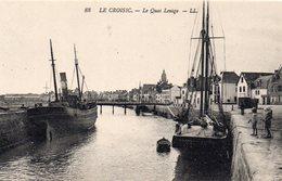 Le Croisic Animée Le Quai Lenigo Bateaux Voiliers - Le Croisic