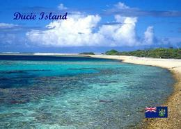 Pitcairn Ducie Island View New Postcard Pitcairninseln AK - Pitcairn Islands