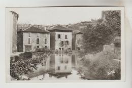 CPSM FIGEAC (Lot) - L'Etang Des 3 Moulins De L'Ancien Monastère - Figeac