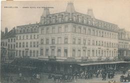 CPA - Belgique - Brussels - Bruxelles - Grand Hôtel Des Boulevards - Cafés, Hotels, Restaurants