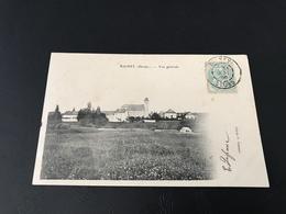 RIGNEY (Doubs) Vue Generale - 1906 Timbrée - France