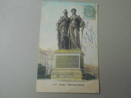 SUISSE GE GENEVE  MONUMENT NATIONAL  PRECURSEUR - GE Ginevra