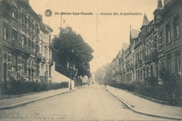 CPA - Belgique - Brussels - Bruxelles - St-Josse-ten-Noode - Avenue Des Arquebusiers - St-Josse-ten-Noode - St-Joost-ten-Node