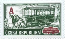1036 Czech Republic First Horse-drawn Tram Line 2019 - Tschechische Republik