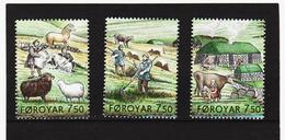 TNT192 DÄNEMARK - FÄRÖER 2005  Michl 523/25 ** Postfrisch SIEHE ABBILDUNG - Färöer Inseln