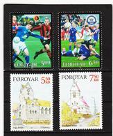 TNT189 DÄNEMARK - FÄRÖER 2004  Michl 499/00 + 511/12 ** Postfrisch SIEHE ABBILDUNG - Färöer Inseln