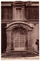 52 CIREY SUR BLAISE - Le Chateau - La Porte Sculptée - Cpa Haute Marne - France