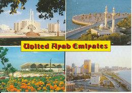 UAE Dubai Postcard Sent To Denmark 2-5-1996 - United Arab Emirates