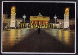Berlin - Nazi Propaganda - Brandenburger Tor 1942 OLD POSTCARD (see Sales Conditions) - Brandenburger Door