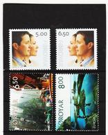 TNT188 DÄNEMARK - FÄRÖER 2004  Michl 495/98 ** Postfrisch SIEHE ABBILDUNG - Färöer Inseln