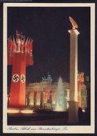 Berlin - Nazi Propaganda - Brandenburger Tor OLD POSTCARD (see Sales Conditions) - Brandenburger Door