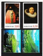 TNT187 DÄNEMARK - FÄRÖER 2003  Michl 460761 + 471/72 ** Postfrisch SIEHE ABBILDUNG - Färöer Inseln