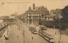 CPA - Belgique - Brussels - Bruxelles - Porte De Schaerbeek Et Rue Royale - St-Josse-ten-Noode - St-Joost-ten-Node