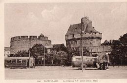 Le Chateau , Bus Transports  Bretons - Saint Malo