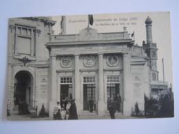 Exposition Universelle De Liège 1905 Le Pavillon De La Ville De Spa - Liege