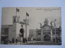 Exposition Universelle De Liège 1905 Diorama Militaire N° 76 De Graeve - Liege