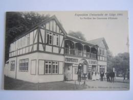 Exposition Universelle De Liège 1905 Le Pavillon Des Couveuses D'enfants N° 63 De Graeve - Liege