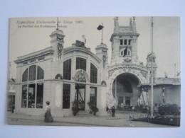 Exposition Universelle De Liège 1905 Le Pavillon Des Ecrêmeuses Melotte Gembloux N° 65 De Graeve - Liege