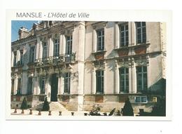 16 - Mansle - L'Hotel De Ville - Mansle