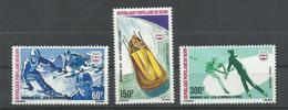 BENIN YVERT AEREO 248/50  MH  * - Benin – Dahomey (1960-...)