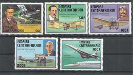 CENTROAFRICANA YVERT AEREO  305/9    MNH  ** - República Centroafricana