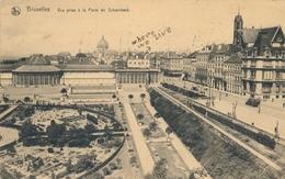 CPA - Belgique - Brussels - Bruxelles - Vue Prise à La Porte De Schaerbeek - Forêts, Parcs, Jardins