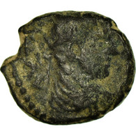 Monnaie, Mésopotamie, Elagabal, Bronze Æ, 218-222, Carrhes, Rare, TB, Bronze - Romaines