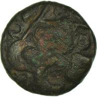 Monnaie, Nerviens, Statère VIROS, TB+, Bronze, Delestrée:623var - Gauloises