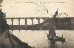 - Finistère  -ref-E233- Port Launay - Viaduc - Viaducs - Bateau De Peche - Pecheur - Carte Bon Etat - - Otros Municipios